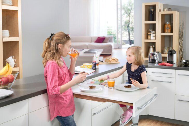 Unsichtbares Platzwunder Kche Klapptisch Kchent Küche Hochglanz Grau Tapete Modul Billige Kleine Einrichten Holzküche Oberschrank Möbelgriffe Singleküche Wohnzimmer Küche Klapptisch