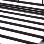 Ausziehbett 180x200 Loft24 Florenz Metallbett 90x200 Cm Tagesbett Ausziehbar Auf Bett Mit Lattenrost Und Matratze Schubladen Schwarz Betten Selber Bauen Wohnzimmer Ausziehbett 180x200