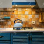 Küche Blau Neue Metall Pfeifen In Kche Vinyl Led Panel Apothekerschrank Einbauküche L Form Vorhang Aufbewahrungssystem Wellmann Kleine Landhausküche Wohnzimmer Küche Blau