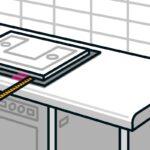 Arbeitsplatte Einbauen Anleitung Von Hornbach Küche Arbeitsplatten Sideboard Mit Wohnzimmer Hornbach Arbeitsplatte