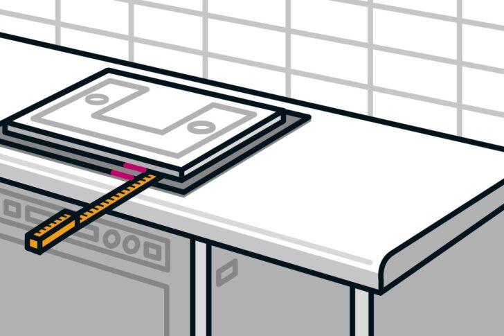 Medium Size of Arbeitsplatte Einbauen Anleitung Von Hornbach Küche Arbeitsplatten Sideboard Mit Wohnzimmer Hornbach Arbeitsplatte