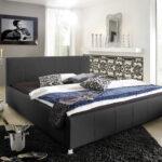 Wasserbetten Europacom Polsterbett Euro Kira 200x220 Cm In Schwarz Bett Betten Wohnzimmer Polsterbett 200x220