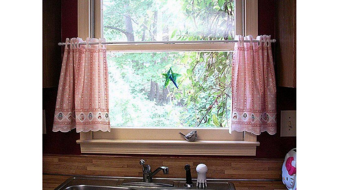Large Size of Küchen Gardinen Vorhang Ideen Fr Kche Youtube Wohnzimmer Für Die Küche Schlafzimmer Scheibengardinen Fenster Regal Wohnzimmer Küchen Gardinen