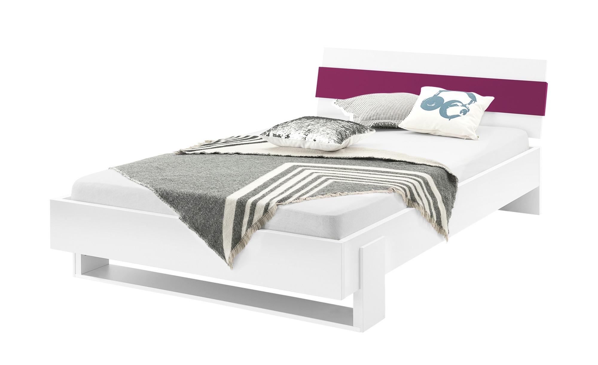 Full Size of Bettgestell Wei Fuchsia Bett 120x200 Mit Matratze Und Lattenrost Betten Bettkasten Weiß Wohnzimmer Bettgestell 120x200