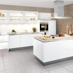 Küchen Quelle Moderne Einbaukche Classica 1230 Grifflos Weiss Hochglanz Regal Wohnzimmer Küchen Quelle