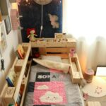 Kinderbett Diy Wohnzimmer Kinderbett Diy Kinderzimmer Mit Dachschrge 29 Tolle