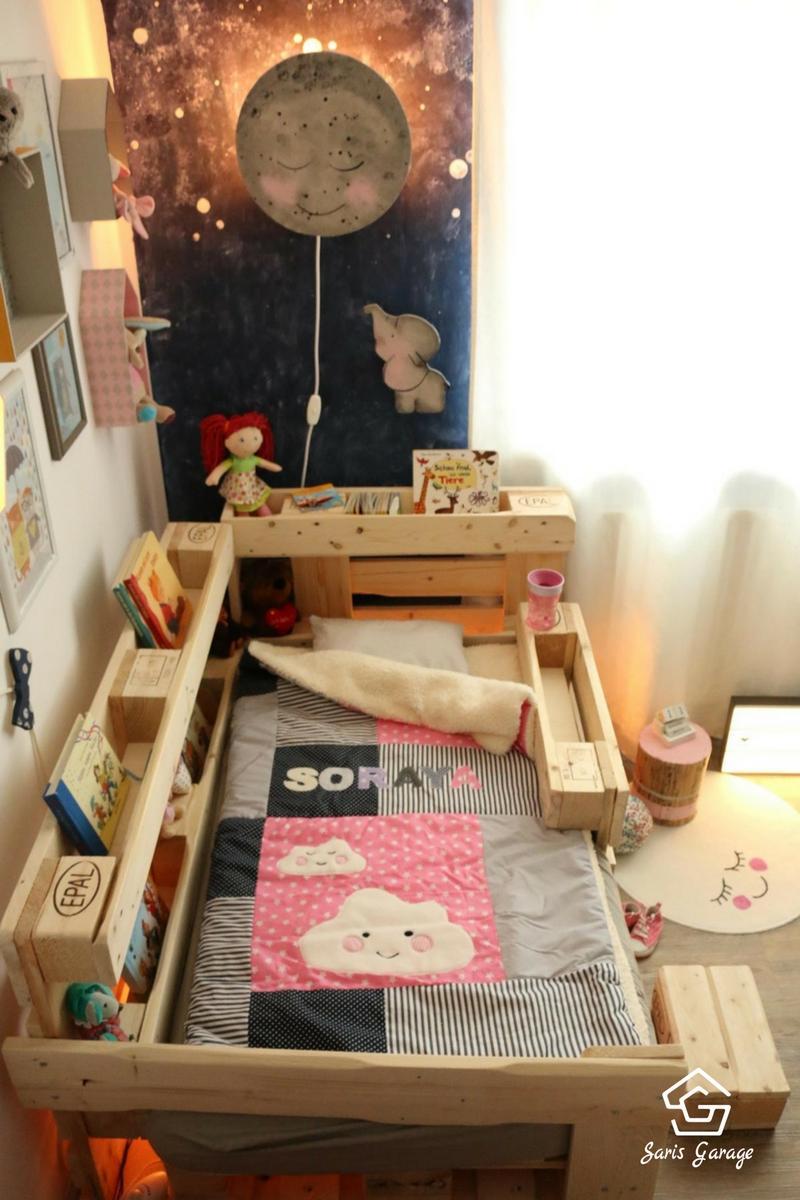 Full Size of Kinderbett Diy Kinderzimmer Mit Dachschrge 29 Tolle Wohnzimmer Kinderbett Diy