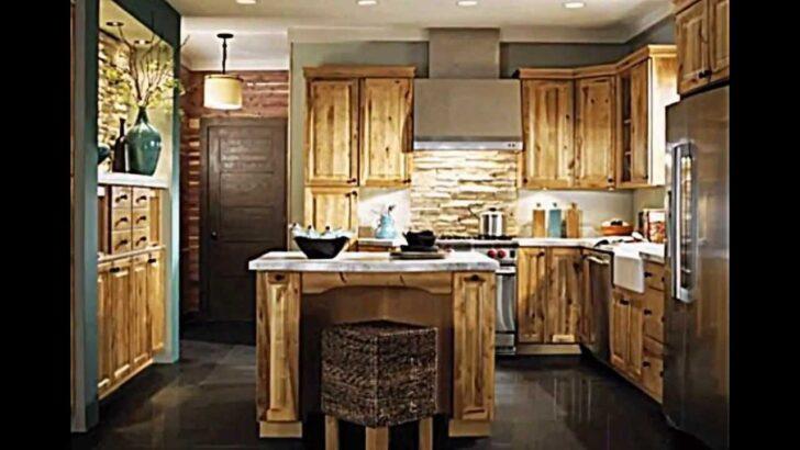 Küchen Rustikal Rustikale Kche Bietet Ein Stilvolles Ambiente 20 Regal Esstisch Rustikaler Holz Rustikales Bett Küche Wohnzimmer Küchen Rustikal