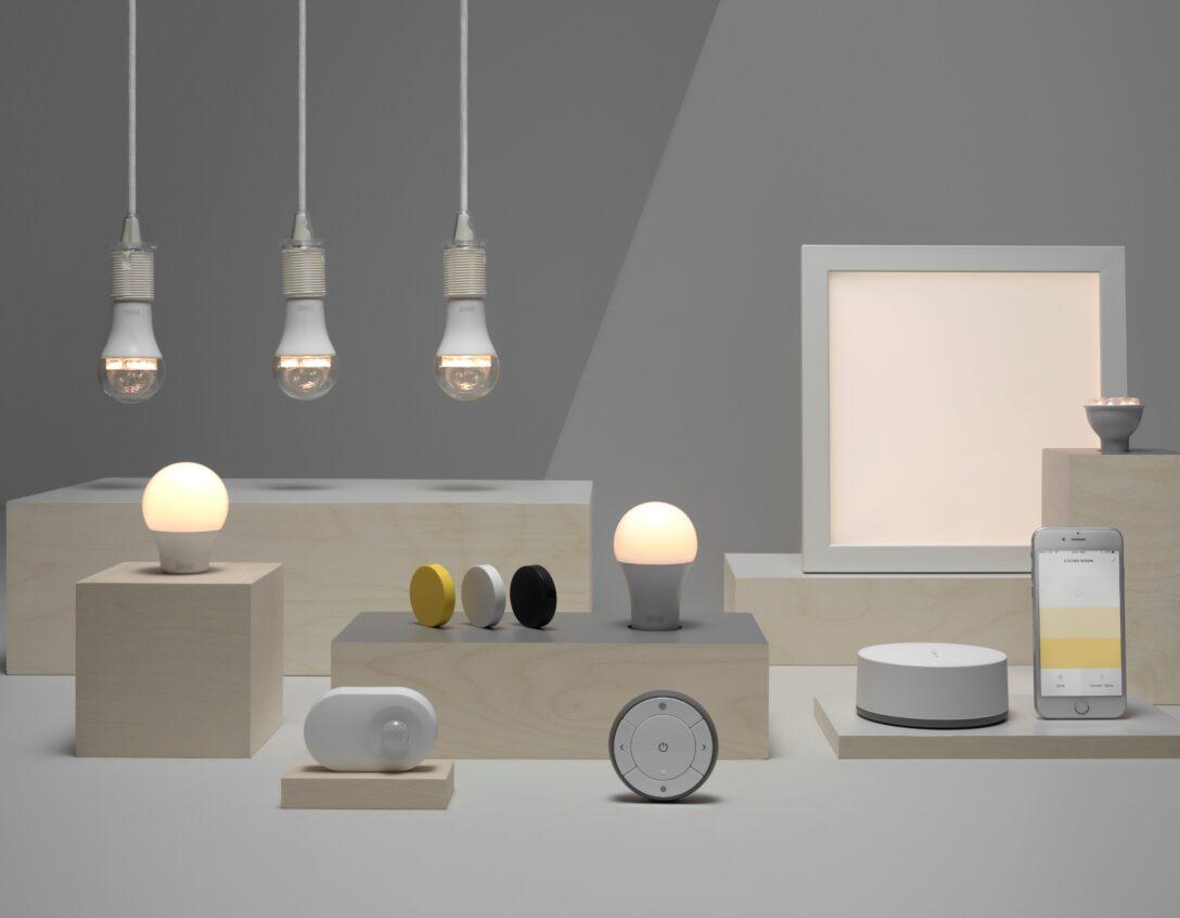 Large Size of Ikea Led Panel Smart Home Light Bulbs Set To Go Mainstream As Enters The Sofa Leder Kunstleder Büffelleder Echtleder Deckenleuchte Bad Weiß Mit Wohnzimmer Ikea Led Panel