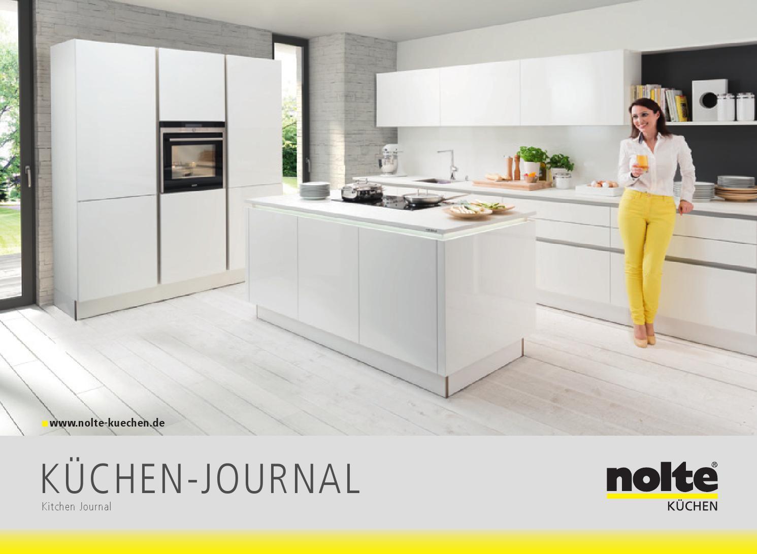 Full Size of Nolte Küchen Glasfront Meyer Kchen Journal 2015 By Perspektive Werbeagentur Küche Betten Schlafzimmer Regal Wohnzimmer Nolte Küchen Glasfront