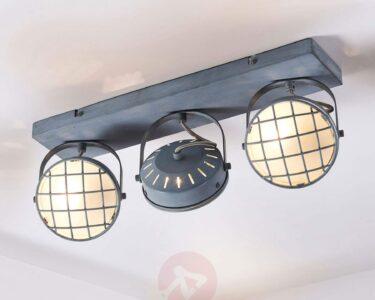 Deckenlampe Industrial Wohnzimmer Deckenlampe Industrial Tamin Graue Led Deckenleuchte Im Industriestil Kaufen Wohnzimmer Deckenlampen Für Schlafzimmer Bad Esstisch Modern Küche