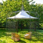 Pavillon Eisen Wohnzimmer Plane Wasserdicht Fr Pavillon Solaire Achteckig Unopi Garten