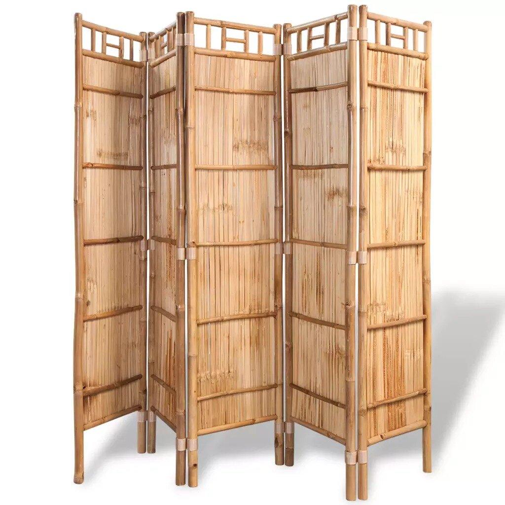 Full Size of Paravent Bambus Sansibar Home Letman Mit 5 Paneelen Wayfairde Bett Garten Wohnzimmer Paravent Bambus