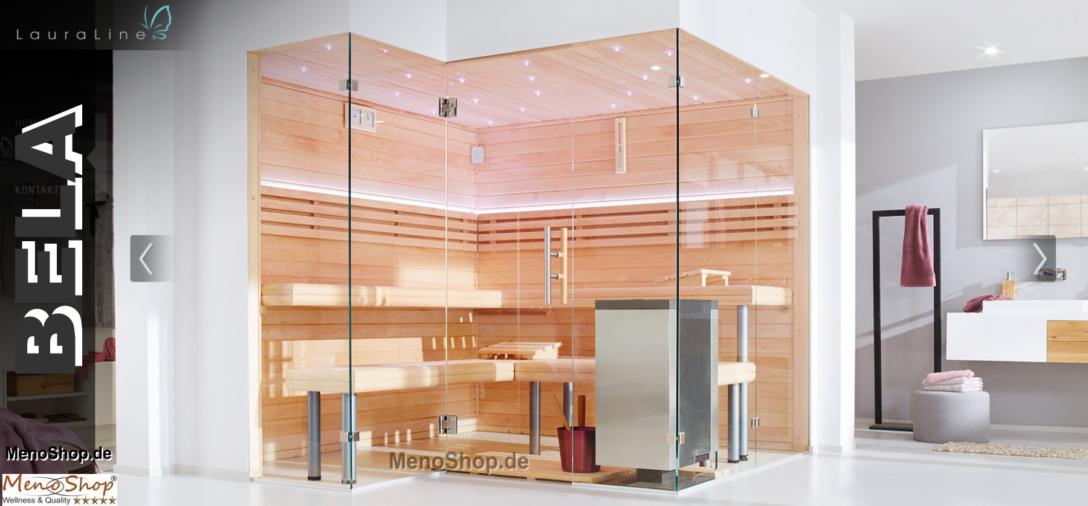 Large Size of Lauraline Design Sauna Bela Wohnzimmer Außensauna Wandaufbau