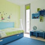Wandgestaltung Kinderzimmer Jungen Regal Weiß Regale Sofa Wohnzimmer Wandgestaltung Kinderzimmer Jungen