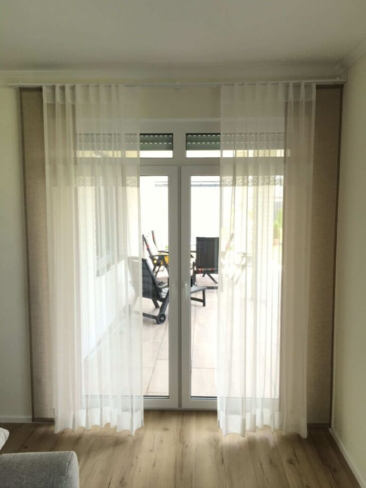 Medium Size of Balkontür Gardine Wohnzimmer Gardinen Schlafzimmer Für Küche Scheibengardinen Fenster Die Wohnzimmer Balkontür Gardine