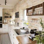 Küchen Rustikal Wohnzimmer Küchen Rustikal Küche Esstisch Holz Regal Rustikales Bett Rustikaler