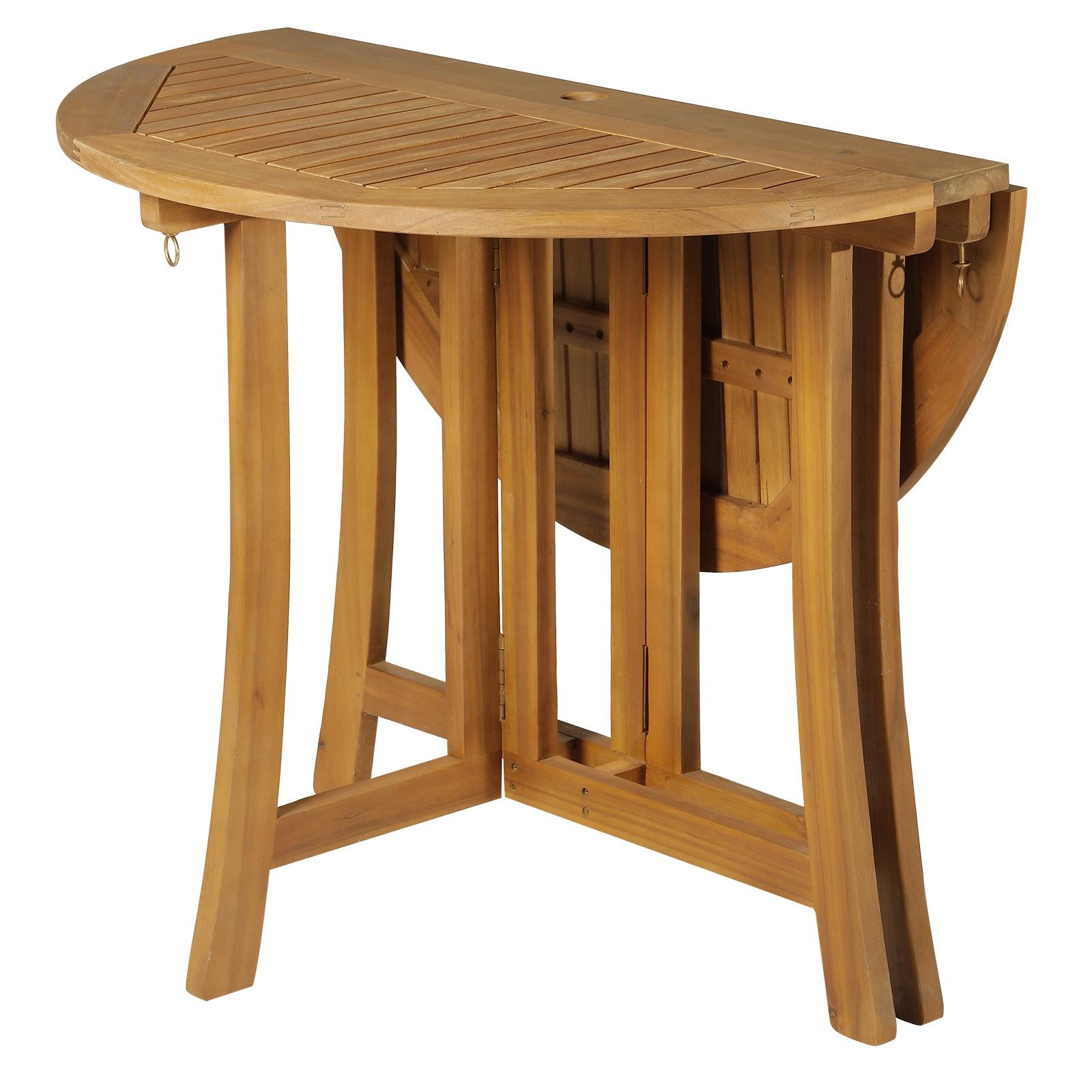 Full Size of Balkontisch Klappbar Outsunny Klapptisch Beistelltisch Gartentisch Holztisch Ausklappbares Bett Ausklappbar Wohnzimmer Balkontisch Klappbar