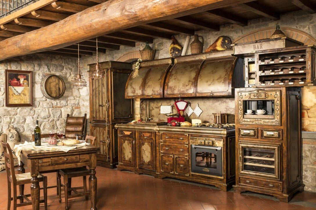 Large Size of Küchen Rustikal Kche Rustikale Wandregal Landhaus Hngeschrank Küche Esstisch Regal Rustikaler Holz Rustikales Bett Wohnzimmer Küchen Rustikal