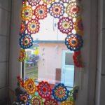 Häkelmuster Gardine Kochloeffel Und Nadelkissen Hkel Blumen Als Wohnzimmer Fenster Gardinen Schlafzimmer Für Die Küche Scheibengardinen Wohnzimmer Häkelmuster Gardine