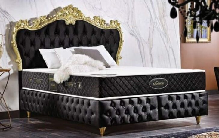 Medium Size of Chesterfield Bett Samt Schwarz Casa Padrino Luxus Barock Betten In Vielen Farben Erhltlich Im Schrank 200x180 Ausgefallene Sofa Wasser Jugend Metall 160x200 Wohnzimmer Chesterfield Bett Schwarz