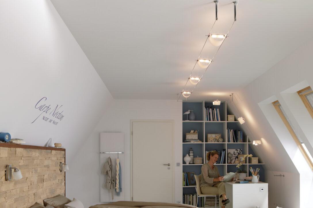 Large Size of Flexible Seilsysteme Komplettsets Paulmann Licht Wohnzimmer Tapeten Led Heizkörper Fürs Hängelampe Gardine Hängeschrank Lampe Fototapete Wohnzimmer Deckenspots Wohnzimmer