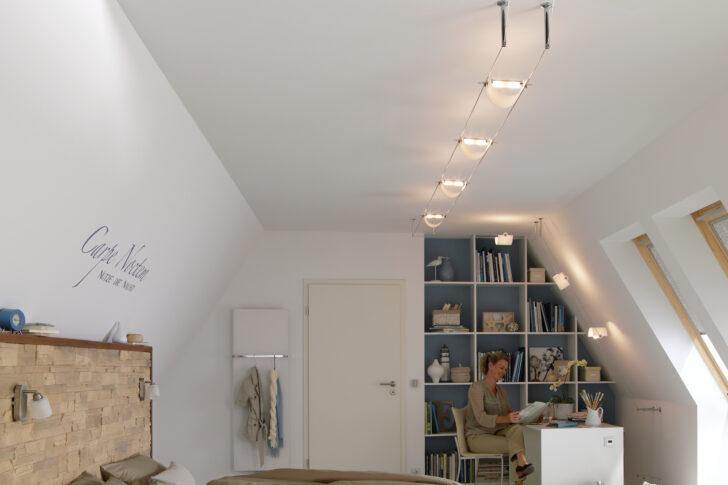 Medium Size of Flexible Seilsysteme Komplettsets Paulmann Licht Wohnzimmer Tapeten Led Heizkörper Fürs Hängelampe Gardine Hängeschrank Lampe Fototapete Wohnzimmer Deckenspots Wohnzimmer