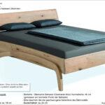 Bett Design Holz Betten Massivholz Schlicht Loop Mit Leichter Und Zeitloser Form Seiner Geschwungenen Balken Wickelbrett Für Fliesen In Holzoptik Bad Jugend Wohnzimmer Bett Design Holz