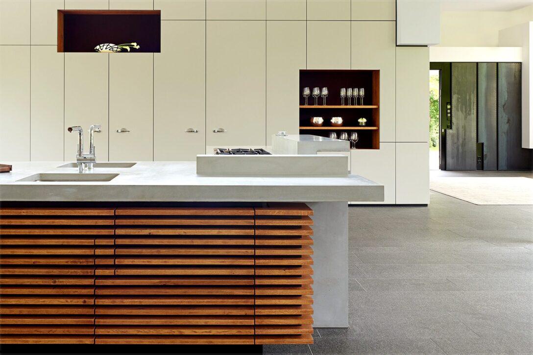Large Size of Puristische Kchenarbeitsplatte Aus Beton Maxraumelemente Freistehende Küche Küchen Regal Wohnzimmer Freistehende Küchen