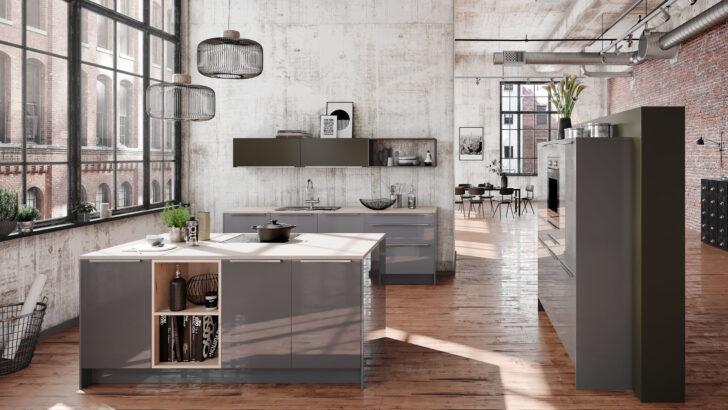 Nolte Kche Grau Hochglanz Mit Holz Arbeitsplatte Hngeschrank Ikea Küche Kosten Modulküche Sofa Schlaffunktion Kaufen Miniküche Betten Bei 160x200 Wohnzimmer Ikea Ringhult Hellgrau