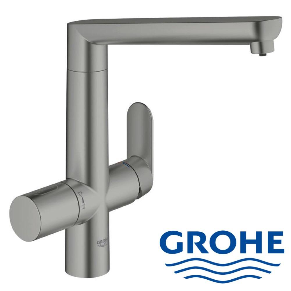 Full Size of Grohe Wasserhahn Designer Drei Wege L Auslauf Thermostat Dusche Küche Bad Für Wandanschluss Wohnzimmer Grohe Wasserhahn