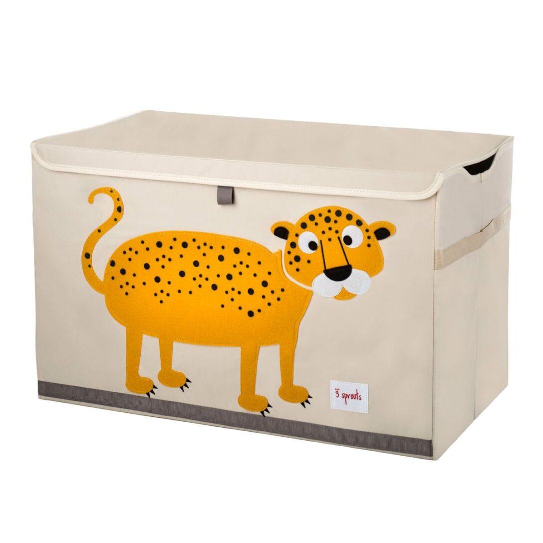 Large Size of Aufbewahrungsbox Kinderzimmer Spielzeugkiste Truhe Toy Chest Leopard Von 3 Sprouts Regal Weiß Regale Garten Sofa Wohnzimmer Aufbewahrungsbox Kinderzimmer