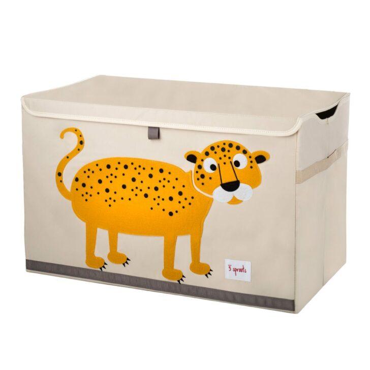 Medium Size of Aufbewahrungsbox Kinderzimmer Spielzeugkiste Truhe Toy Chest Leopard Von 3 Sprouts Regal Weiß Regale Garten Sofa Wohnzimmer Aufbewahrungsbox Kinderzimmer