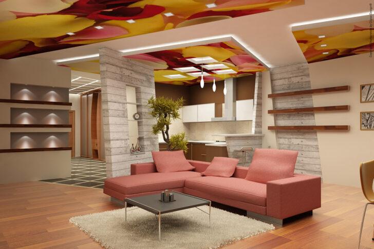 Medium Size of Bedruckte Decke Clipso Deckenlampe Küche Wohnzimmer Decken Deckenleuchten Led Deckenleuchte Schlafzimmer Moderne Wohnzimmer Decke Gestalten