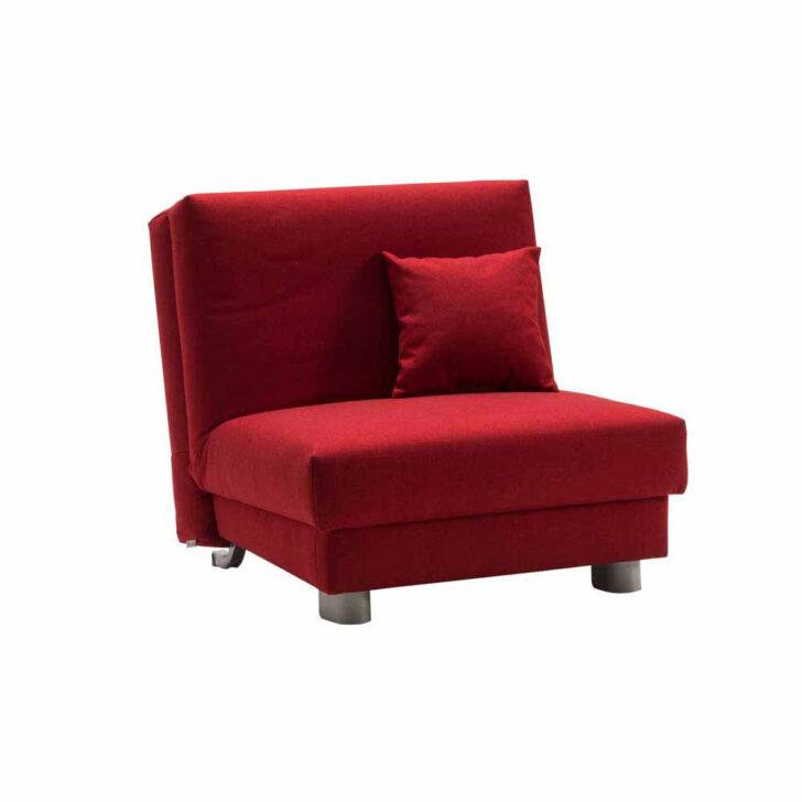 Medium Size of Couch Ausklappbar Roter Sessel Mit Schlaffunktion Auf 80x200 Cm Masculino Bett Ausklappbares Wohnzimmer Couch Ausklappbar