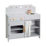 Cam Spielkche Holz Grau Bei Rume Kinder Spielküche Wohnzimmer Spielküche