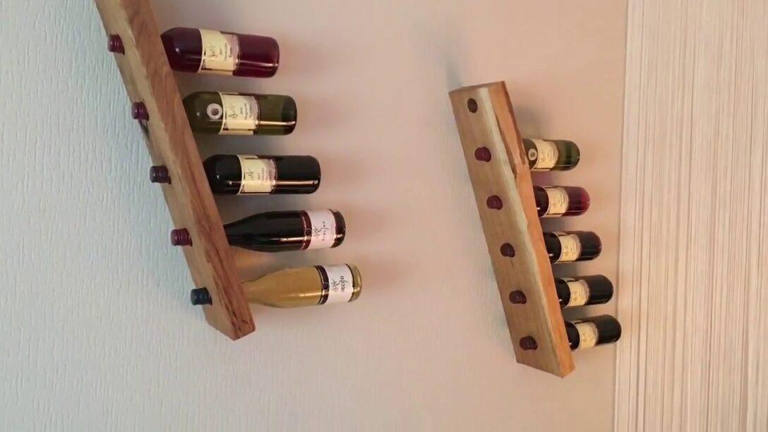 Large Size of Weinregal Holz Wand Diy Wine Rack Flaschenhalter Selber Bauen Youtube Schlafzimmer Komplett Massivholz Bett Sprüche Wandtattoo Rückwand Küche Glas Wandregal Wohnzimmer Weinregal Holz Wand
