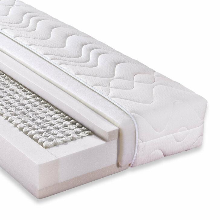 Medium Size of Metallbett 100x200 Taschenfederkernmatratze Accord 1000 Deluxe Cm H3 Ebay Betten Bett Weiß Wohnzimmer Metallbett 100x200