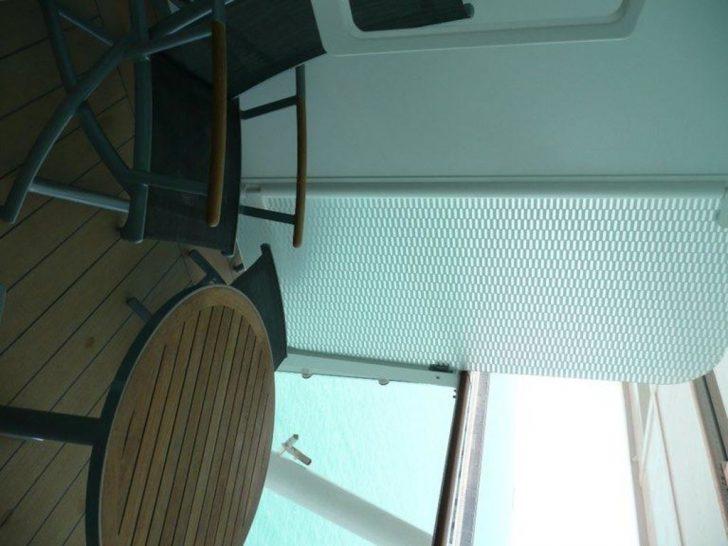 Medium Size of Trennwand Balkon Bild Zum Nchsten Zu Celebrity Solstice In Garten Glastrennwand Dusche Wohnzimmer Trennwand Balkon
