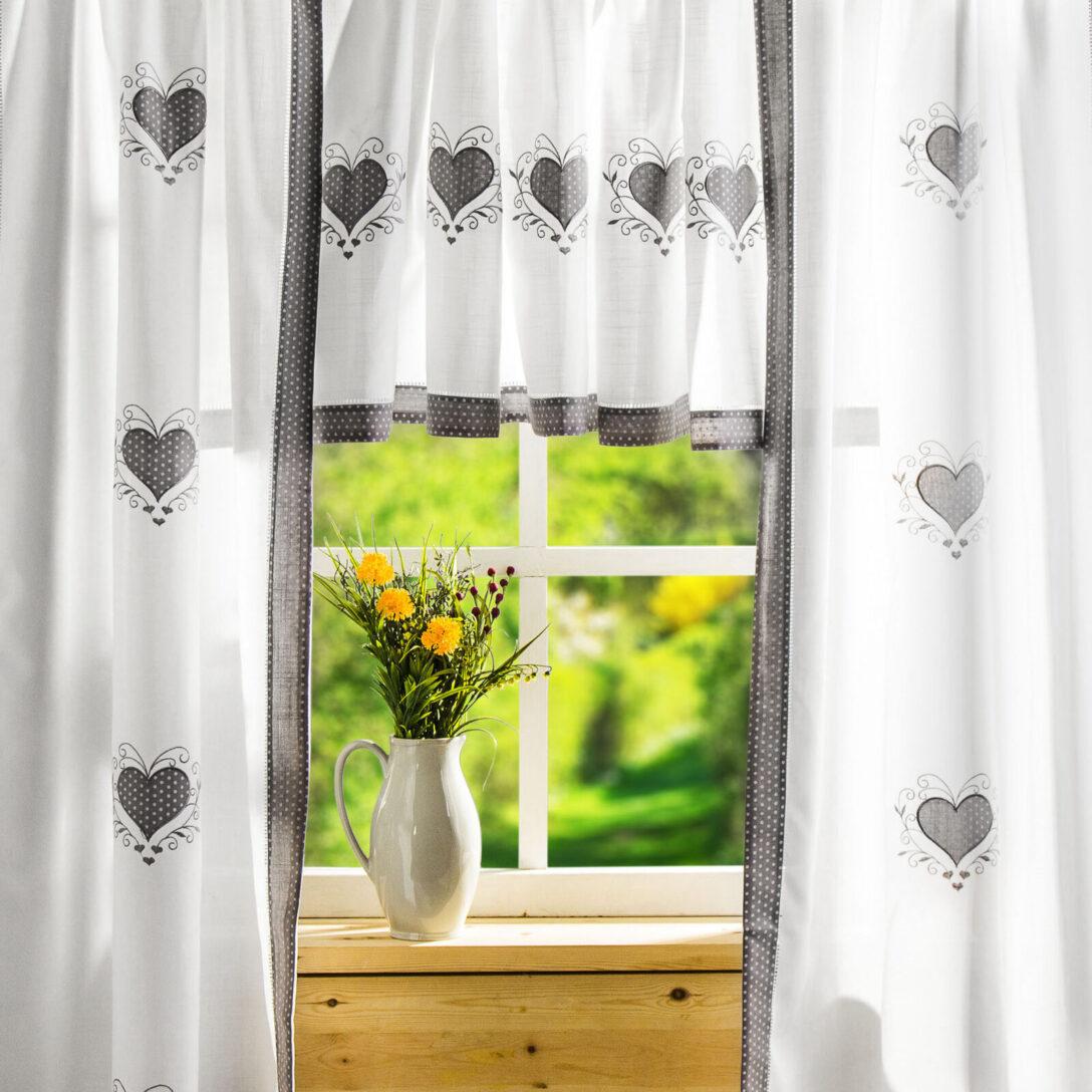 Large Size of Küchenvorhang Fenstervorhang Mehr Als 200 Angebote Wohnzimmer Küchenvorhang