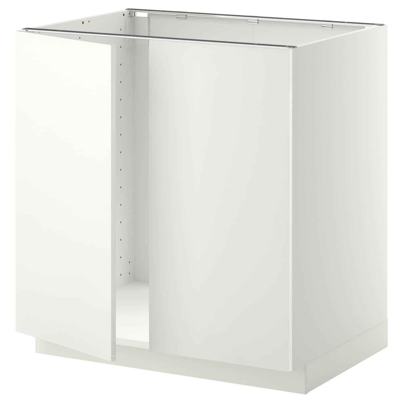 Full Size of Ikea Unterschrank Metod Fr Sple 2 Tren Wei Küche Badezimmer Kosten Eckunterschrank Modulküche Bad Betten Bei Holz 160x200 Sofa Mit Schlaffunktion Kaufen Wohnzimmer Ikea Unterschrank