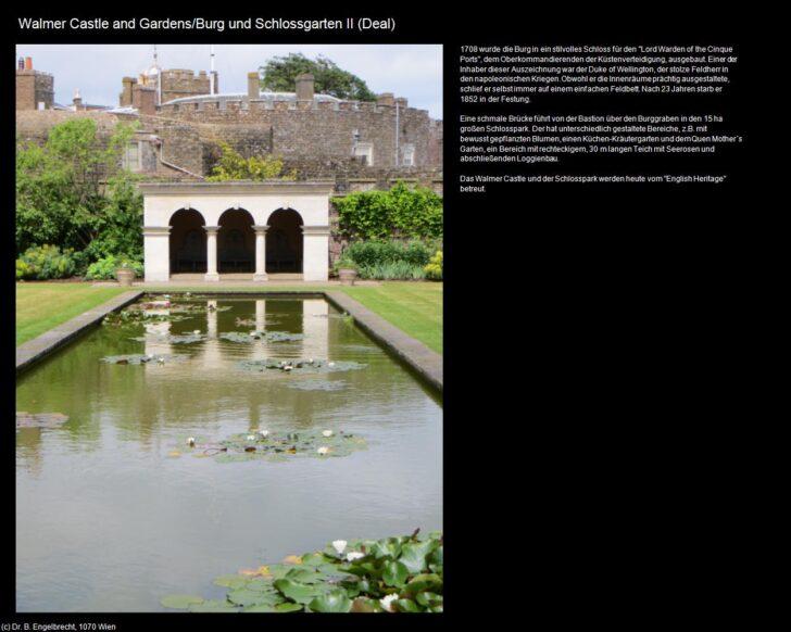 Medium Size of Walmer Castle And Gardens Burg Und Schlossgarten Ii Deal Wohnzimmer Küchenkräutergarten