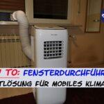 Fenster Klimaanlage Klimaanlagen Noria Einbauen Kaufen Abdichten Abdichtung Schlauch Adapter Test Wohnwagen Fensterdurchfhrung Klimaschlauch I Abluft Fr Mobiles Wohnzimmer Fenster Klimaanlage