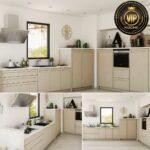 Küchenmöbel Wohnzimmer Küchenmöbel Ariane Moderne Landhauskche Massivholz Kchenzeile L Form