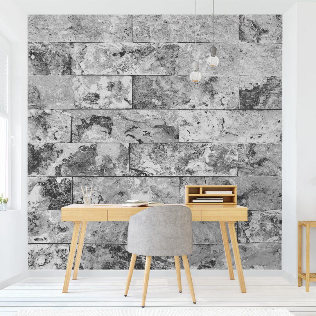 Large Size of Fototapete Grau Tapete Selbstklebend Steinwand Naturmarmor Quadrat Fototapeten Wohnzimmer Schlafzimmer Küche Hochglanz Graues Bett Regal Xxl Sofa 3er 3 Sitzer Wohnzimmer Fototapete Grau
