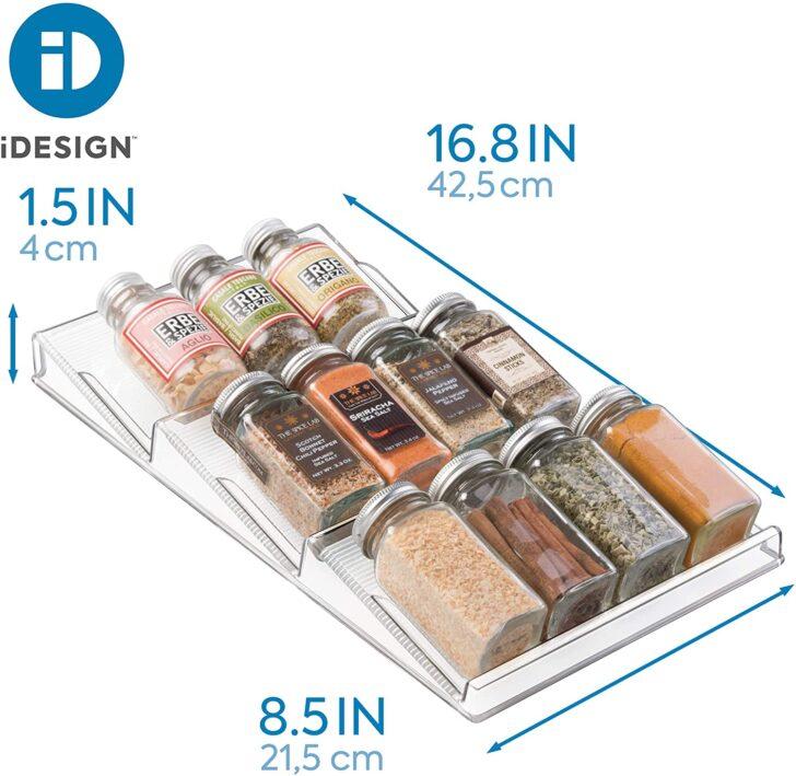 Medium Size of Idesign Gewrzregal Fr Schublade Schubladeneinsatz Küche Wohnzimmer Gewürze Schubladeneinsatz