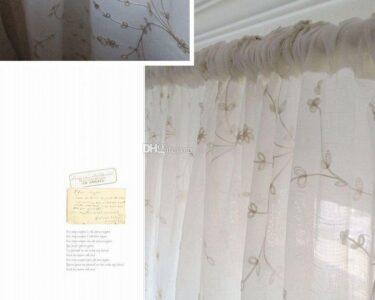 Küchenfenster Gardine Wohnzimmer Einzelne Panel Leinen Stickerei Vorhang Fenster Tr Gardinen Für Küche Wohnzimmer Schlafzimmer Gardine Die Scheibengardinen