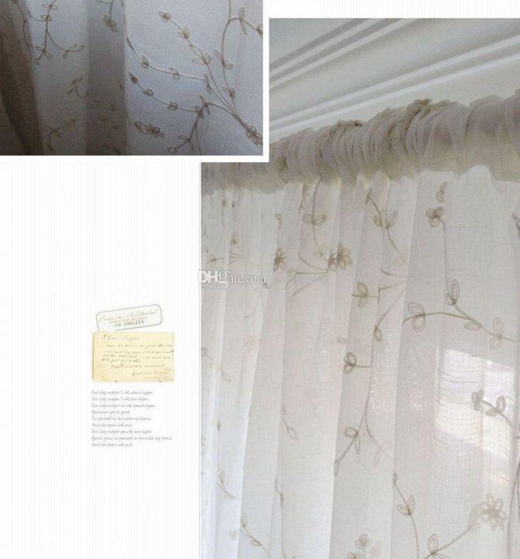 Medium Size of Einzelne Panel Leinen Stickerei Vorhang Fenster Tr Gardinen Für Küche Wohnzimmer Schlafzimmer Gardine Die Scheibengardinen Wohnzimmer Küchenfenster Gardine