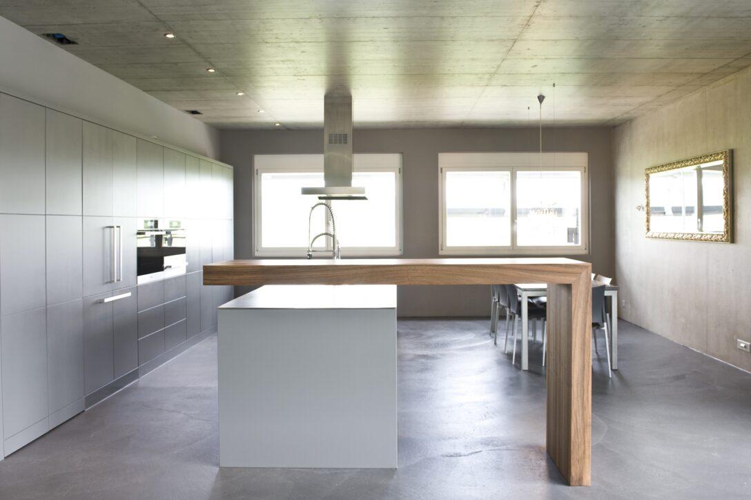 Large Size of Puristische Kche Schneider Innenausbau Ag Küchen Regal Freistehende Küche Wohnzimmer Freistehende Küchen