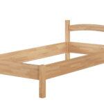 Futonbett 100x200 Massivholzbett Holzbett Buche Natur Einzelbett Bettgestell Betten Bett Weiß Wohnzimmer Futonbett 100x200